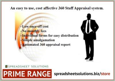 360 Staff Appraisal – £415