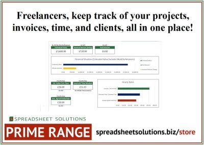 Freelance Timesheet & Invoice – £295