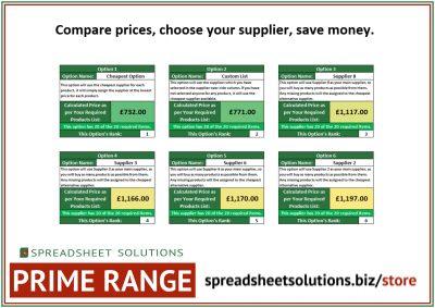 Purchase Price Comparison – £240