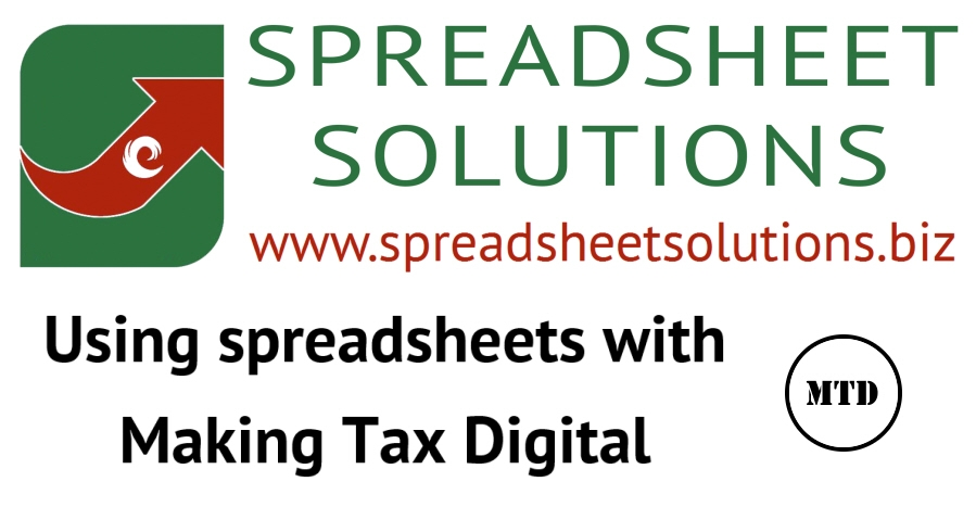 Using Spreadsheets with Making Tax Digital