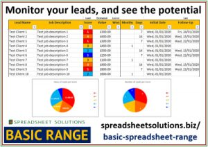 Spreadsheet Solutions - Lead Reminder & Report