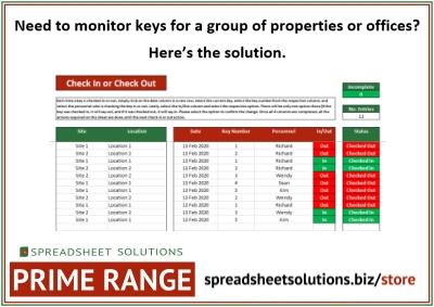 Key Management Solution – £450