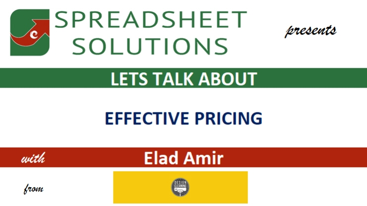 Let's Talk About EFFECTIVE PRICING
