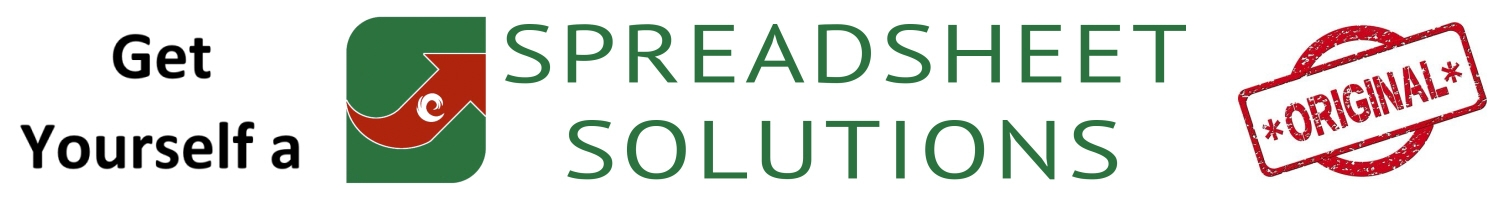 Get Yourself a Spreadsheet Solutions Original