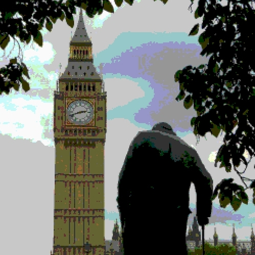 Big Ben - Churchill