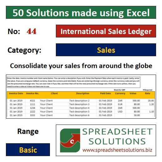 44. International Sales Ledger