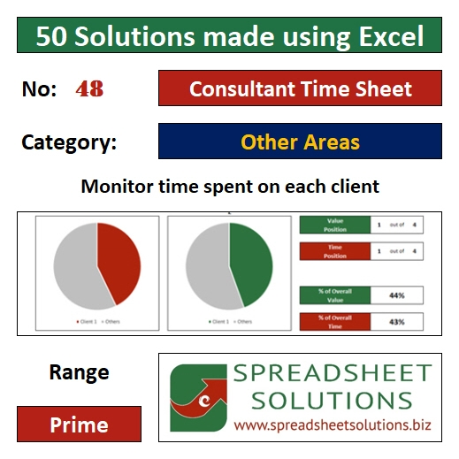 48. Consultant Time Sheet