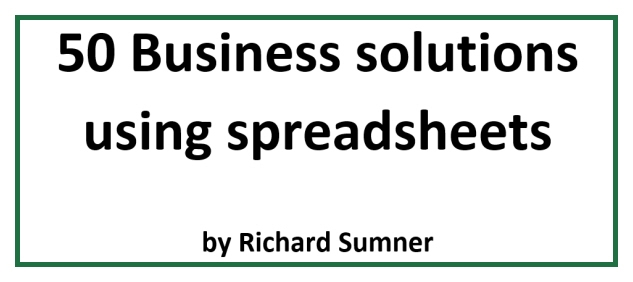 50 Business solutions using spreadsheets