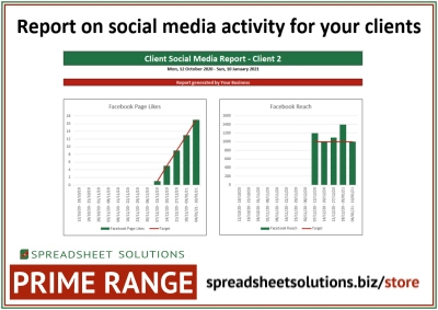 Social Media Marketing Report – £120